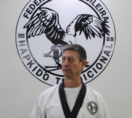 Grão Mestre Sereno Faixa Preta 8º Dan de Hapkido